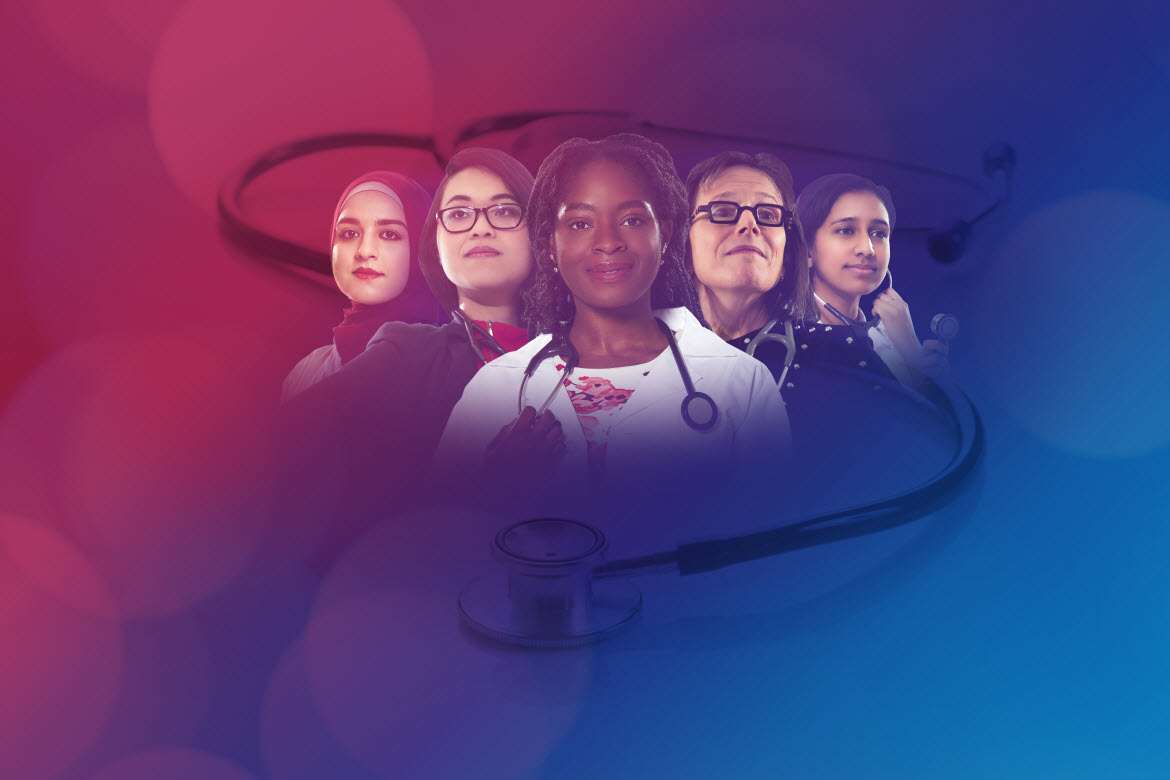 Collage image for 2019 Women in Medicine Month
