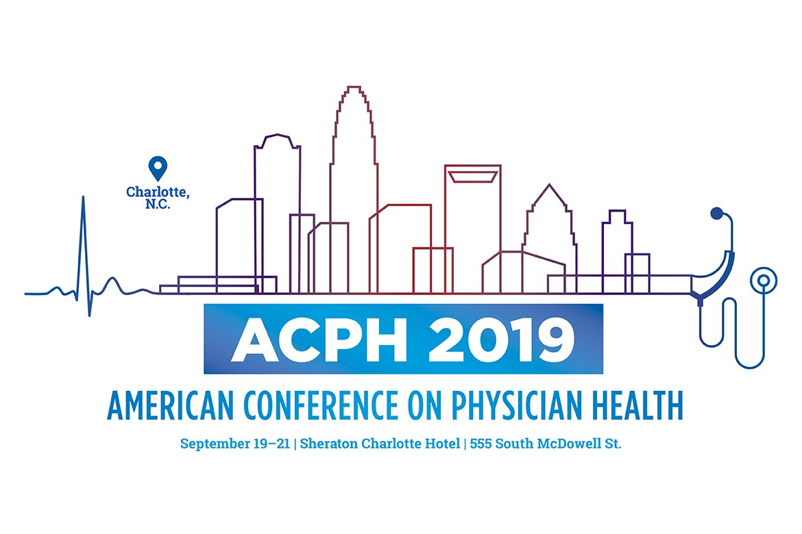 Graphic for the 2019 American Conference on Physician Health