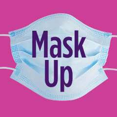 Mask Up Facebook Profile Image