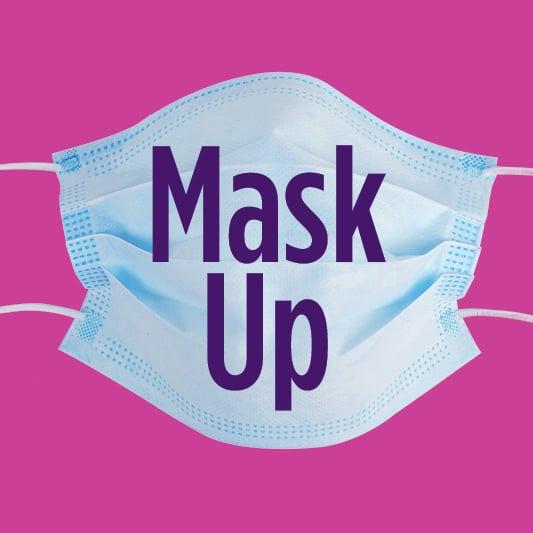 Mask Up Facebook Profile Image