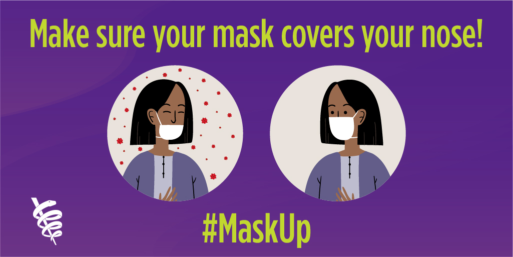 MaskUp: Cover Nose Twitter