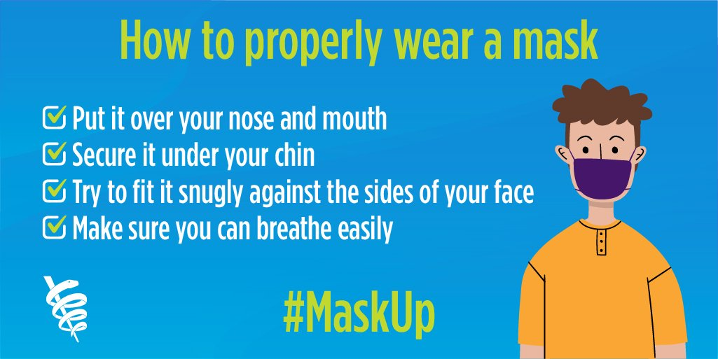 askUp: How to Properly Wear a Mask Twitter