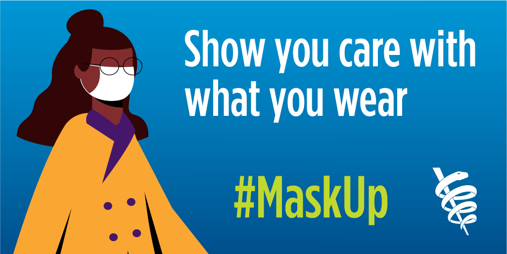 MaskUp: Show You Care Twitter