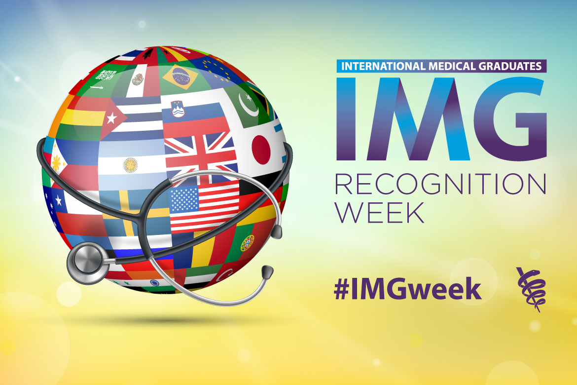 2020 IMG Recognition Week social media hashtag