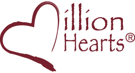 Million Hearts logo