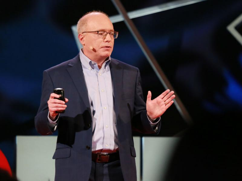 David Asch, MD, MBA, at TEDMED 2018. Photo courtesy of TEDMED.