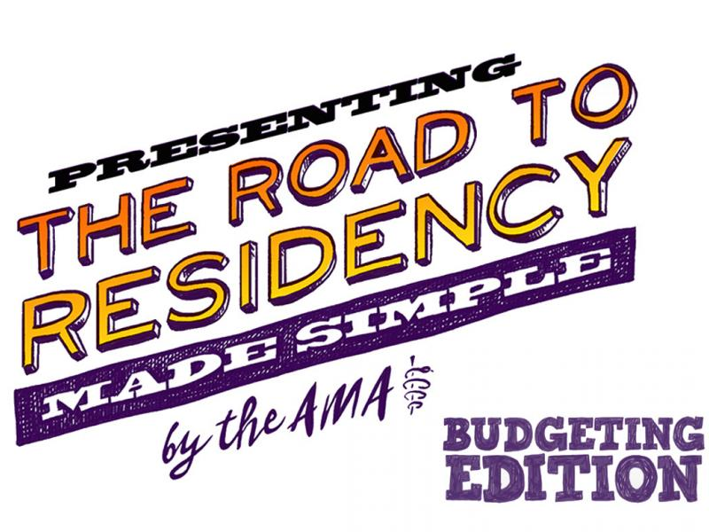 Road to residency title card