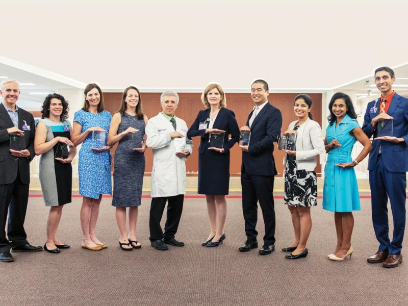 10 physicians of the Northwestern Scholars of Wellness program