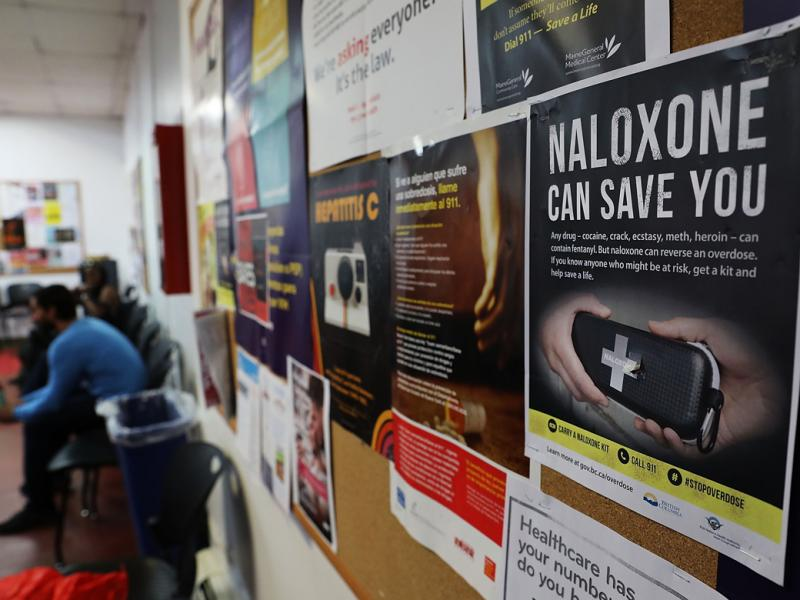 Poster for naloxone