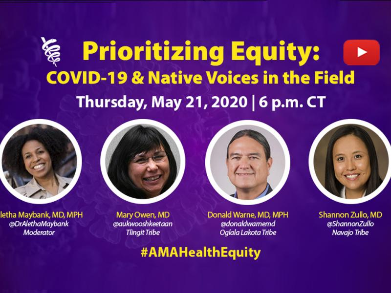 Prioritizing Equity video series: COVID-19 & Native Voices in the Field