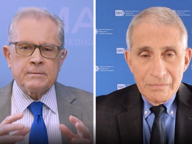James L. Madara, MD, Anthony Fauci, MD