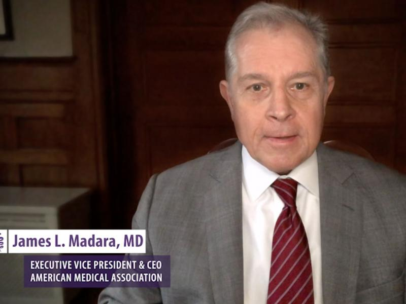 James Madara, MD