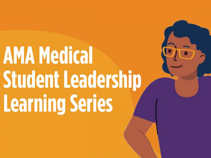 Medical student leadership learning series