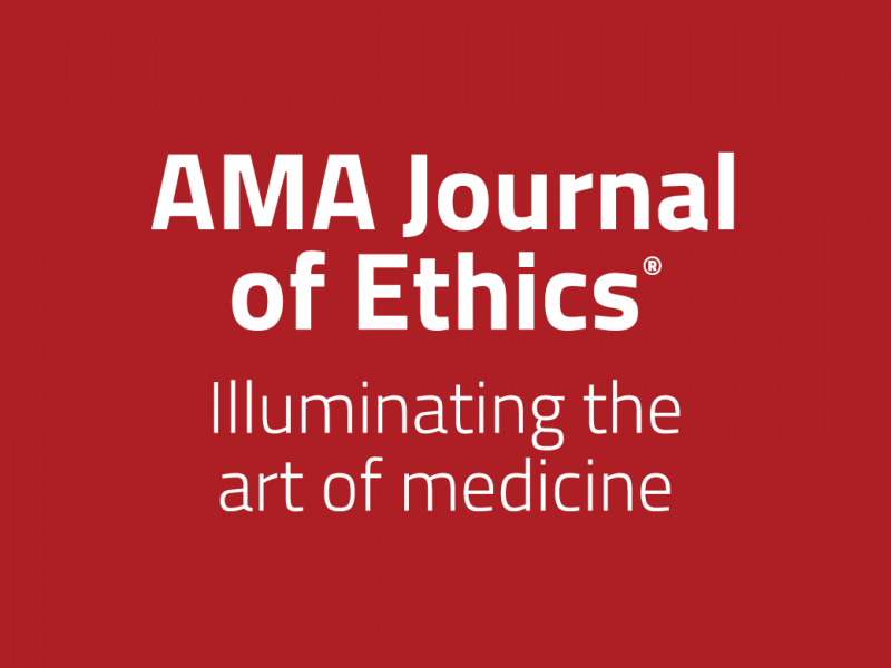 Logo for AMA Journal of Ethics podcast