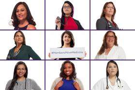Collage of women physicians