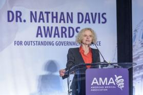 National Institute on Drug Abuse Director Nora D. Volkow, MD