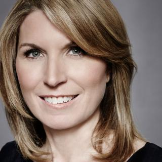 Photo of Nicole Wallace, political analyst and MSNBC anchor, New York Times best-selling author, and former White House director of communications.