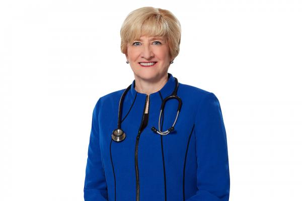 AMA President Barbara L. McAneny, MD, an oncologist