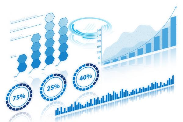 Data visualization graphs.