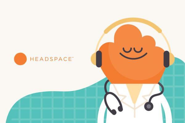 Image for Headspace, the meditation and mindfulness app.