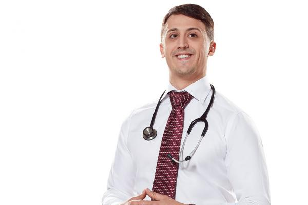 Medical student Andrew DiMatteo