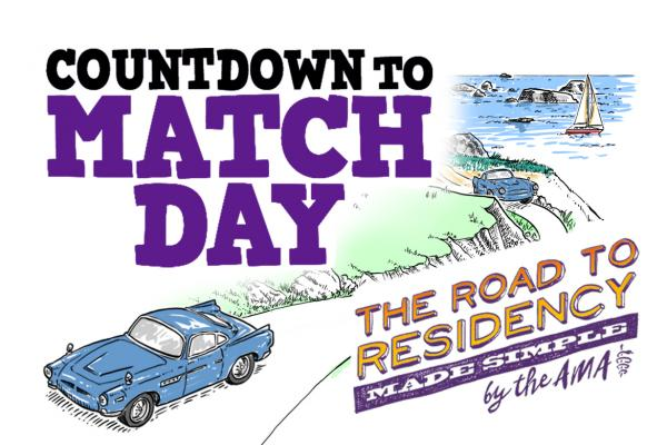 Illustration for FREIDA video: Road to Residency: Countdown to Match Day