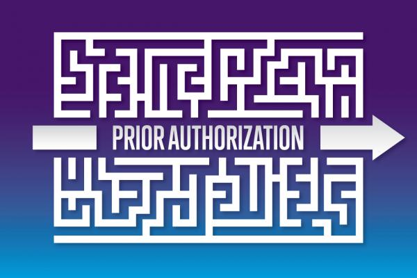 Prior authorization graphic.