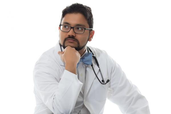 Rohit Abraham, medical student