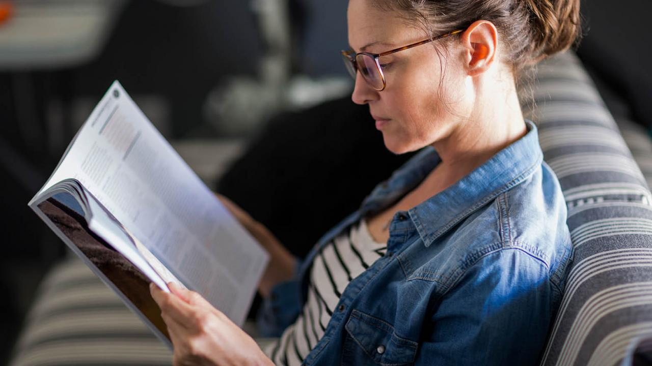 In battle against doctor burnout, reading—for fun—is fundamental
