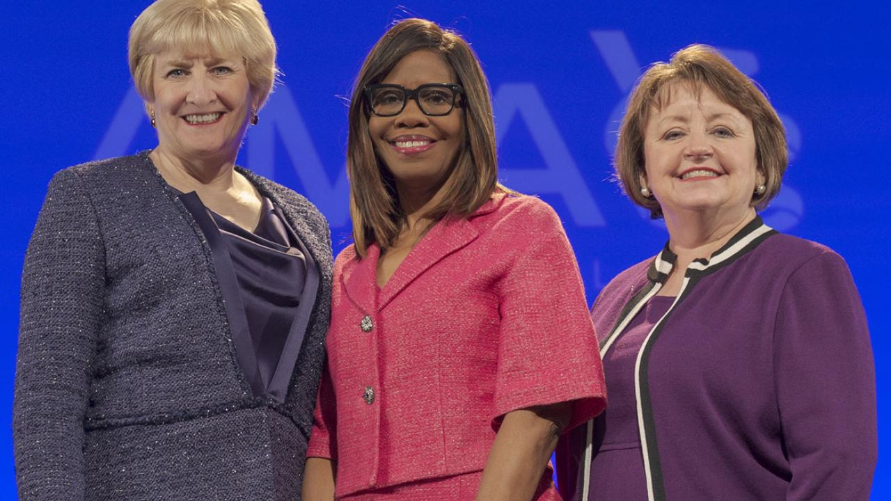 Susan R Bailey Md Wins Office Of Ama President Elect American Medical Association