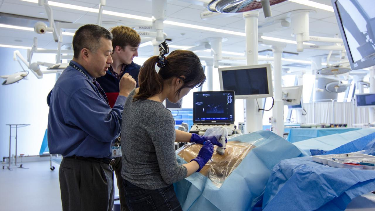 Online, simulation scenarios ready med students for residency