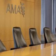 Empty AMA meeting room