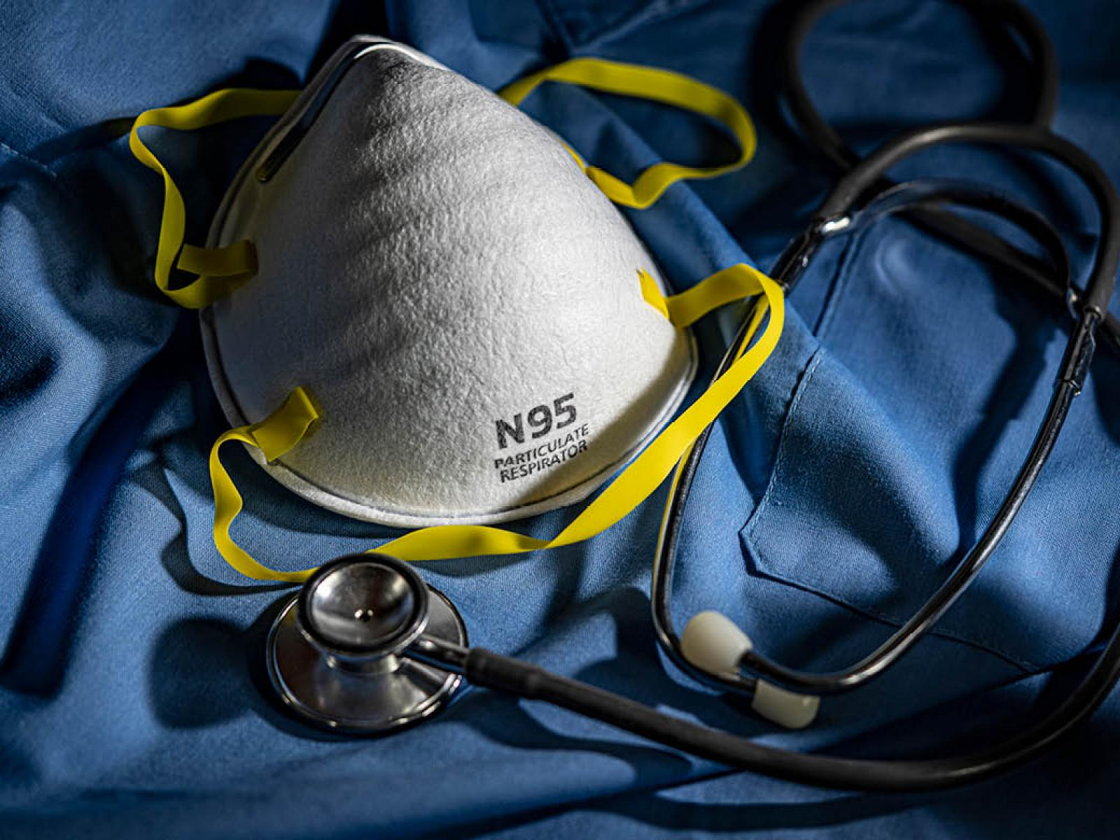 PPE and N95 mask