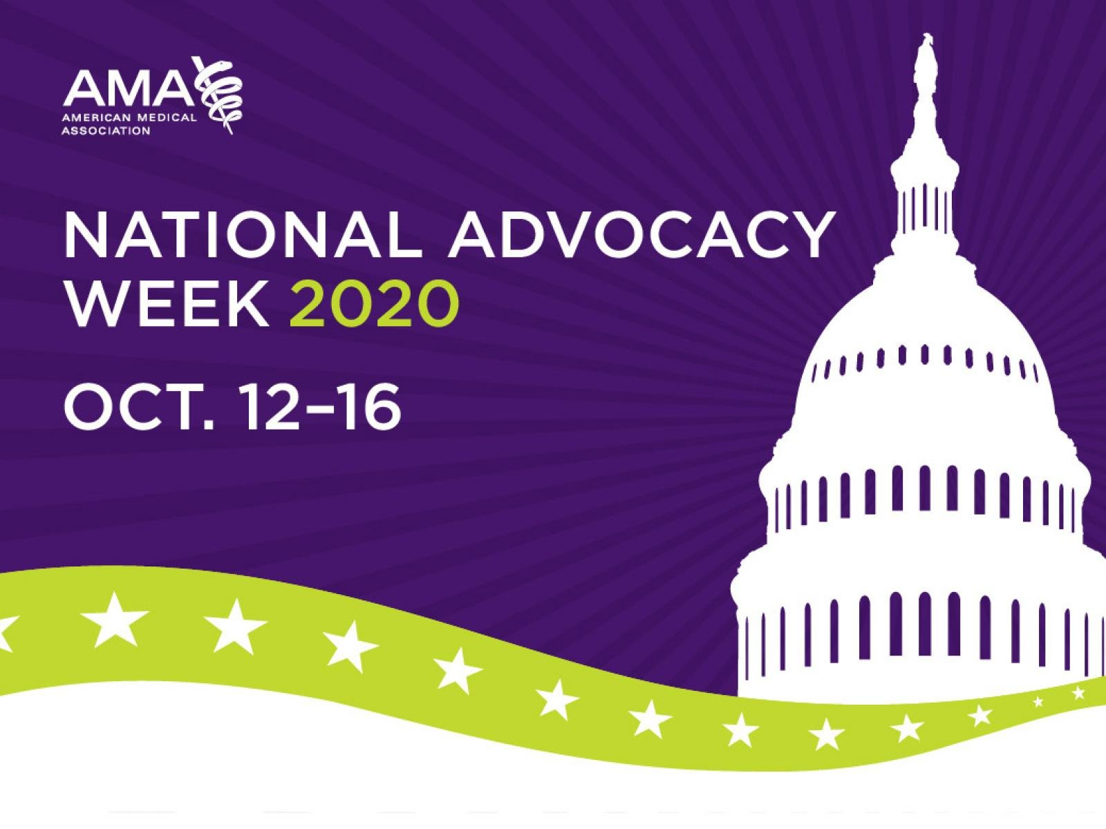 2020 National Advocacy Week banner