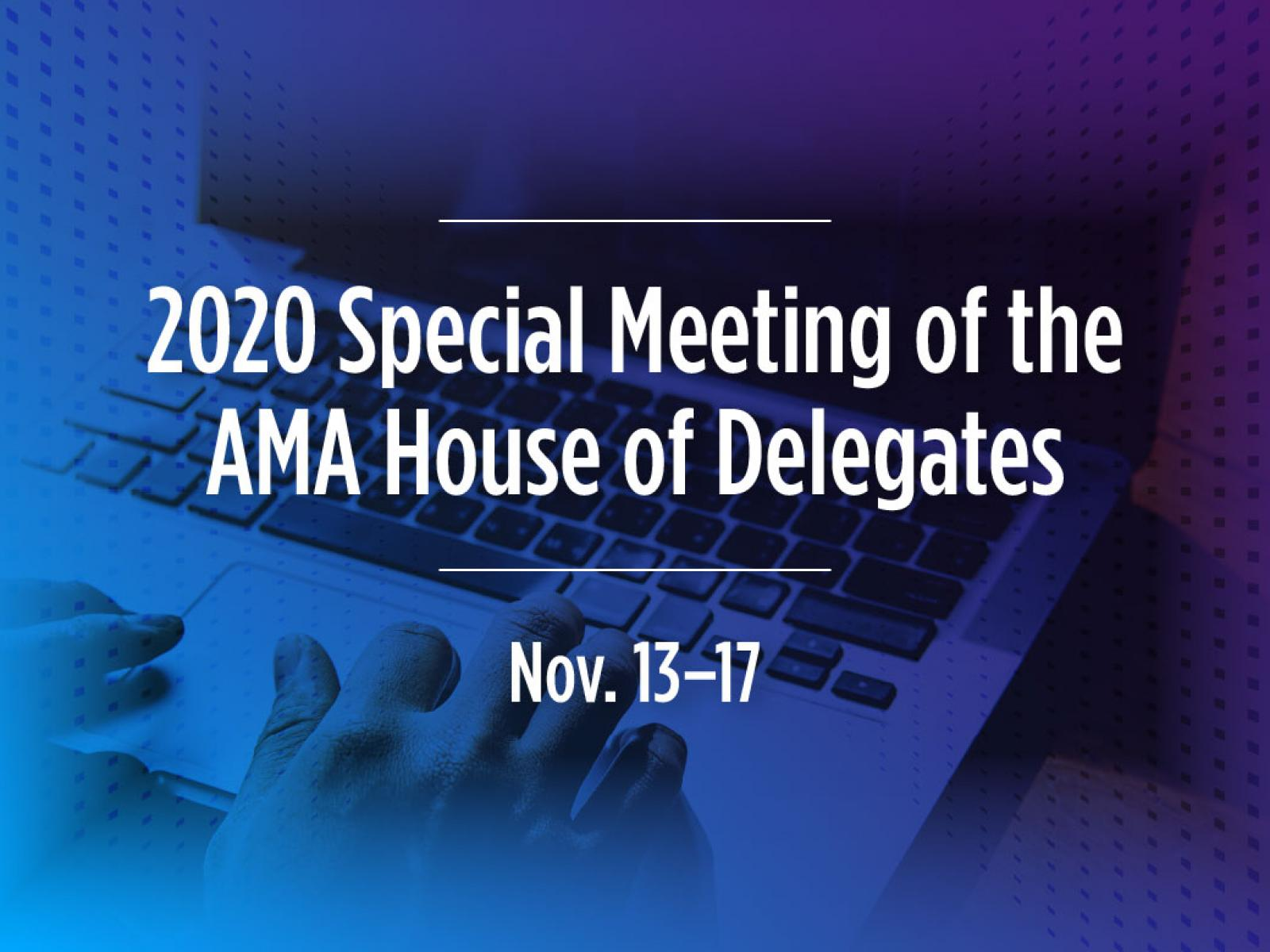 2020 Special Meeting of the HOD