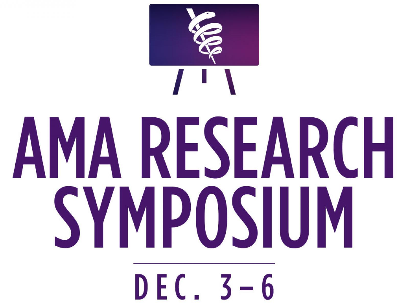 AMA Research Symposium banner