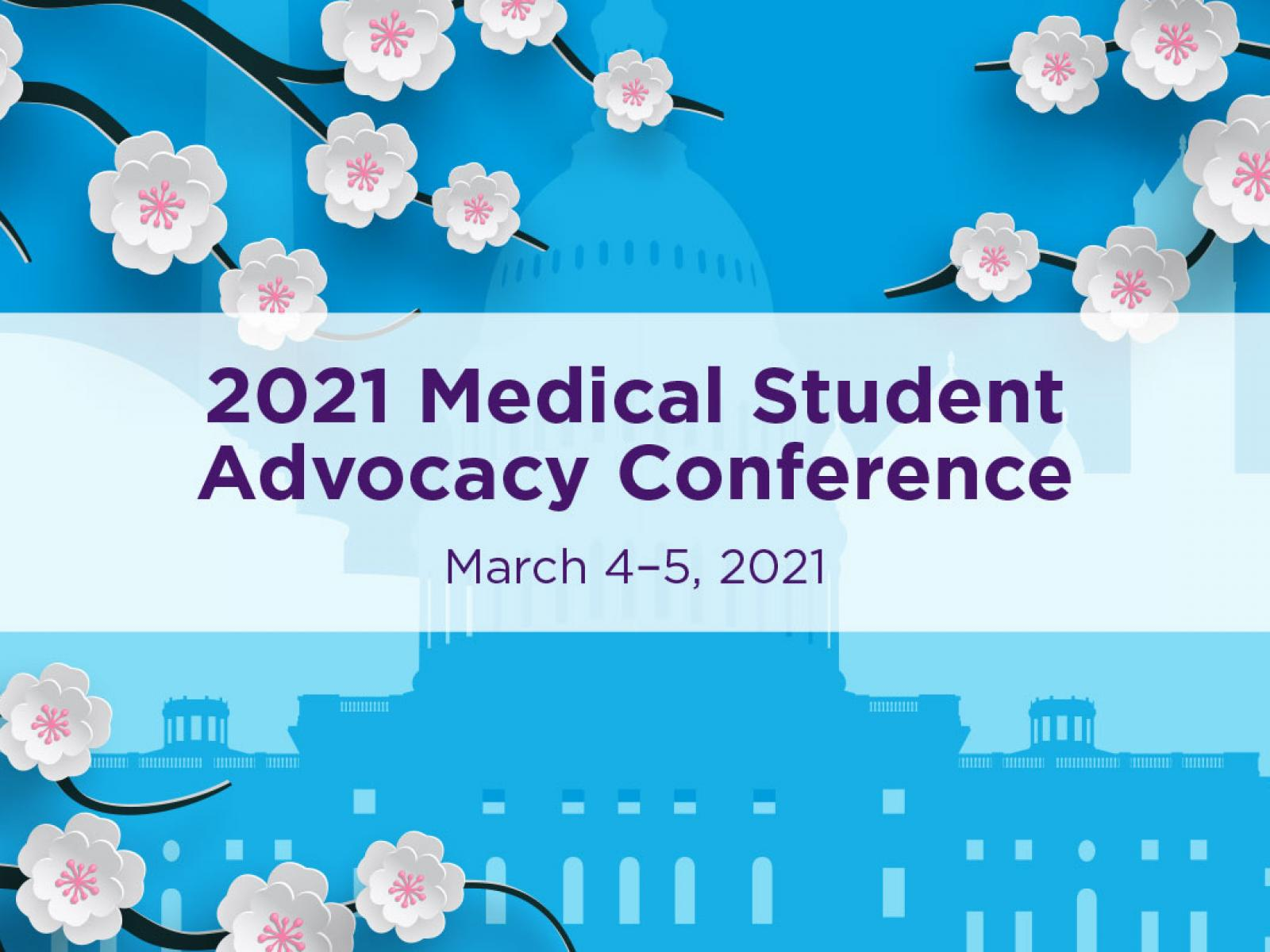 Graphic for 2021 Medical Student Advocacy Conference (MAC)