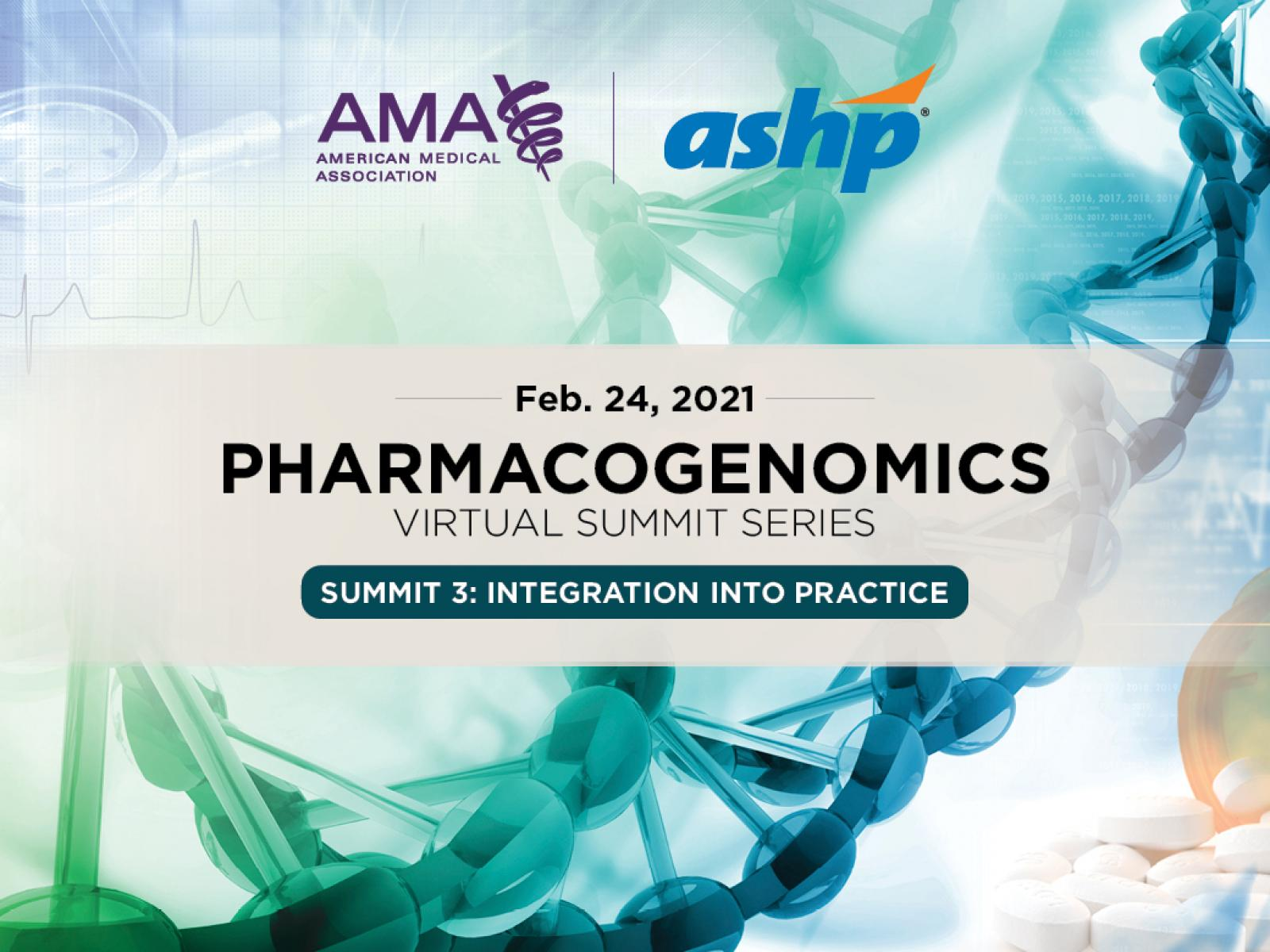 Pharmacogenomics Summit 3