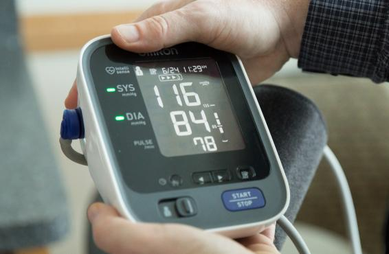 Blood pressure monitoring can go a long way. The AMA website provides resources to help.