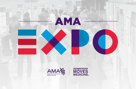 Logo for the AMA EXPO