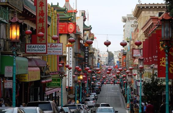 Street in Chinatown
