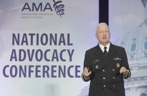 Brett P. Giroir, MD, at the 2019 AMA National Advocacy Conference