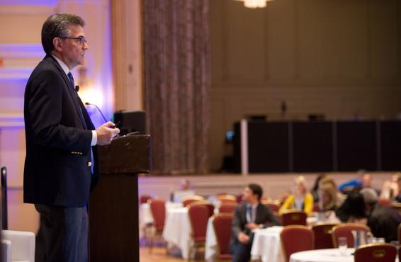 Steven Strongwater, MD, at the International Conference on Physician Health