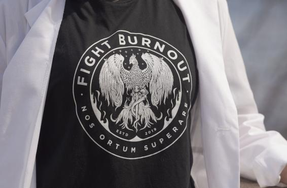 Fight Burnout t-shirt