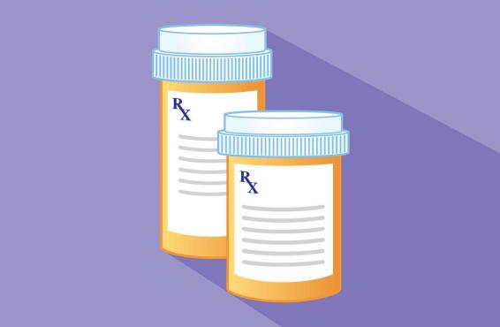 Two prescription bottles