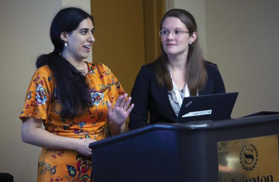 Amarpreet Ahluwalia, MD, and Kaitlyn Shank, MD