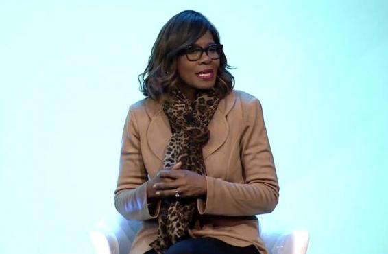 Dr. Patrice Harris speaking at an event